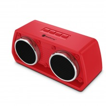 NewRixing NR-2024 Car Model Concept Design Bluetooth Speaker with Hands-free Call Function, Support TF Card & USB & FM & AUX (Red)